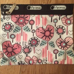 LeSportsac Makeup Cosmetics Travel Pouch